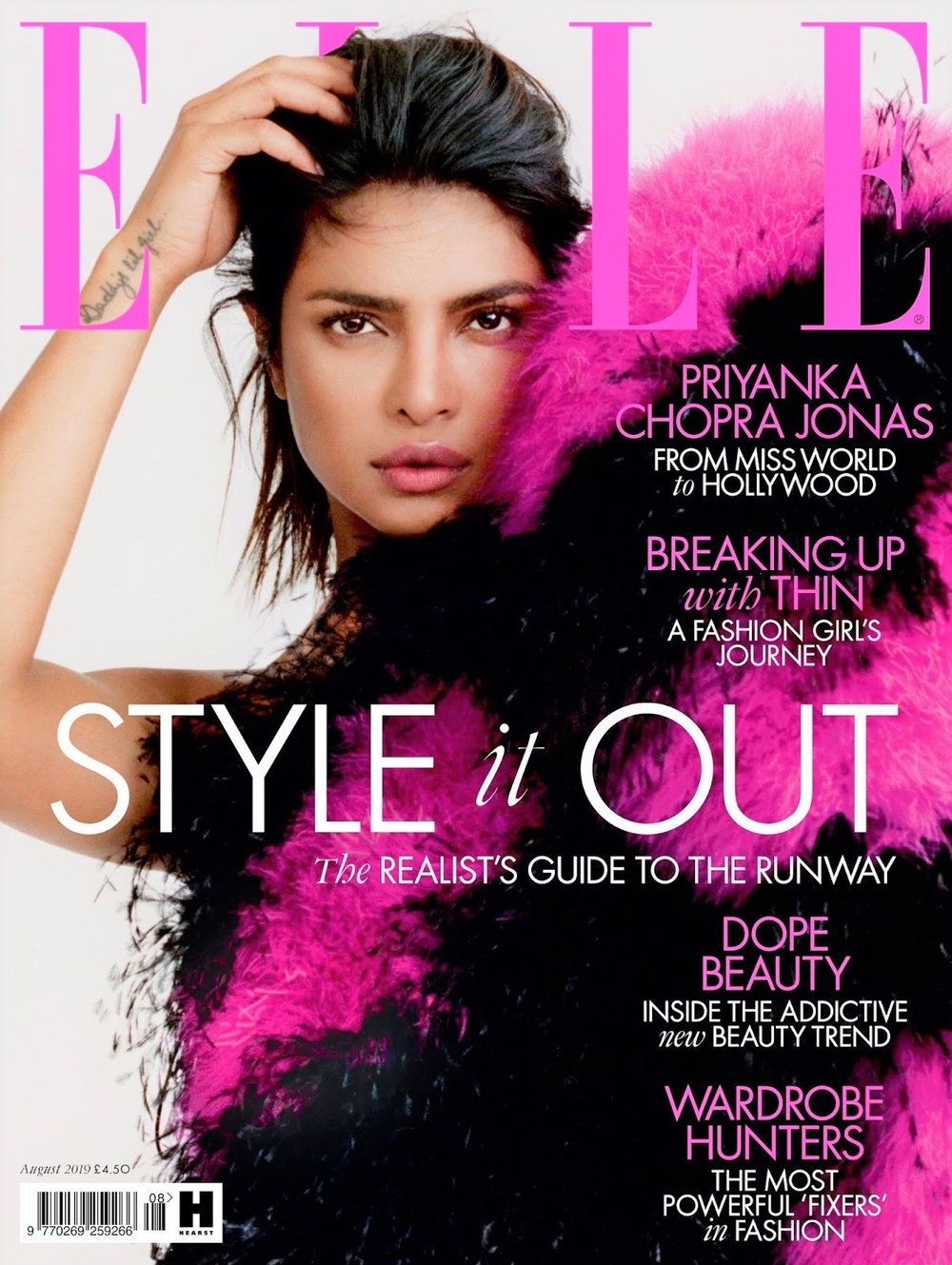 Priyanka Chopra, Elle UK