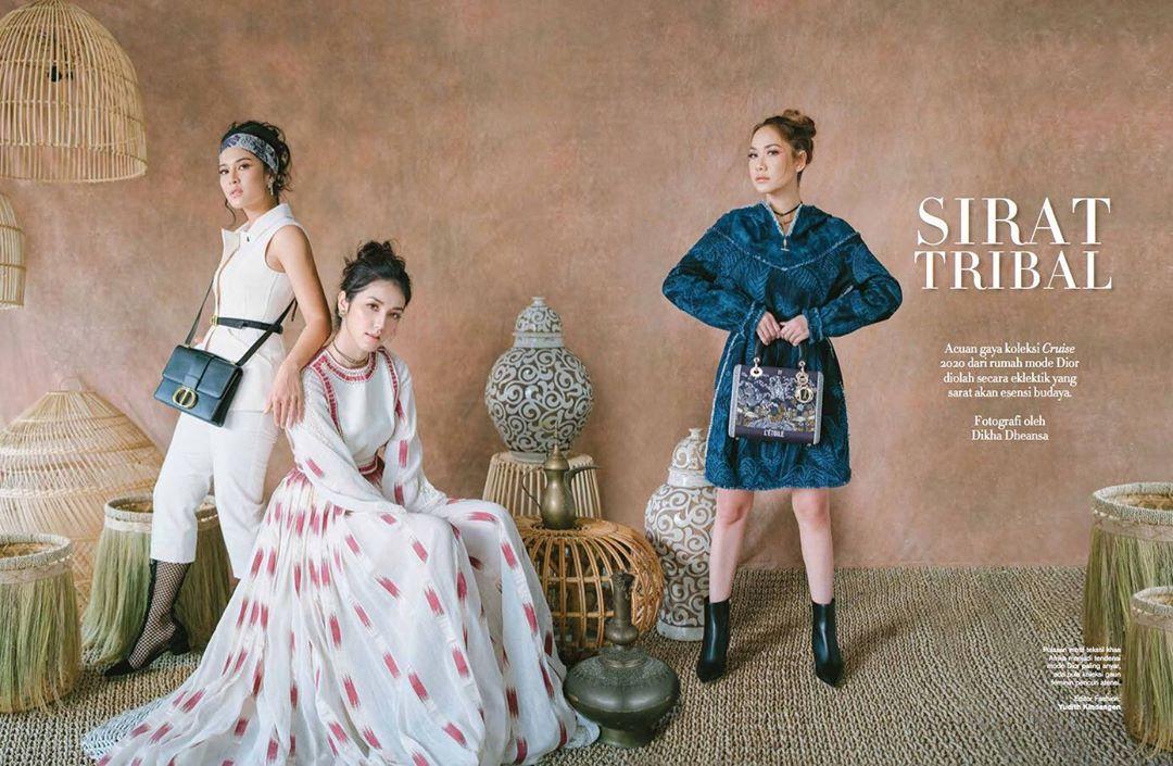 Dior Cruise 2020, Harper's Bazaar Indonesia, Archangela Chelsea