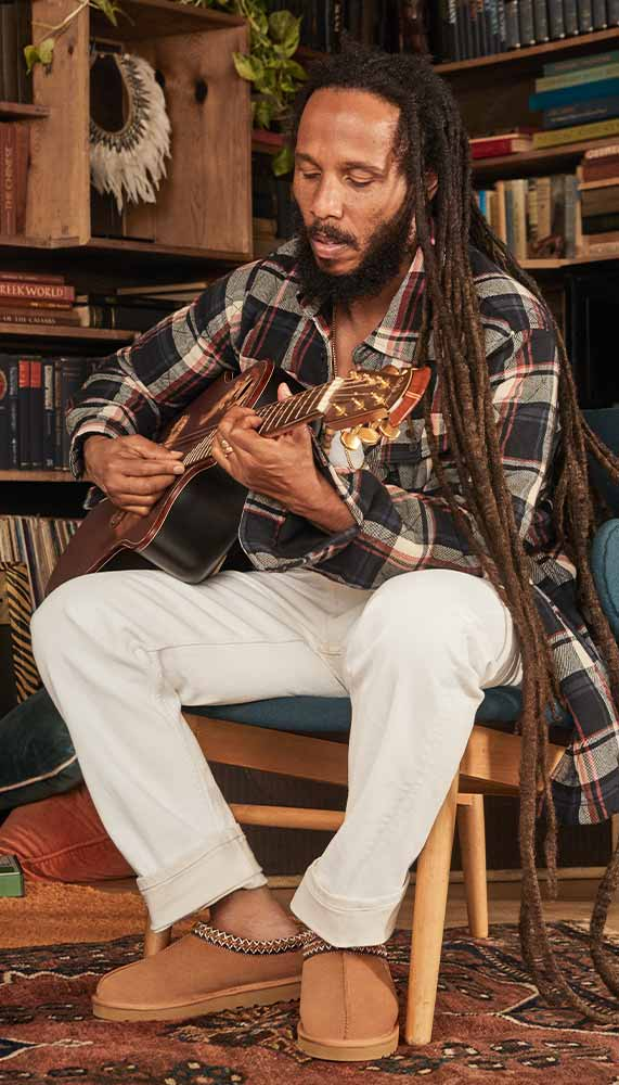 Ziggy Marley and Family UGG Campaign