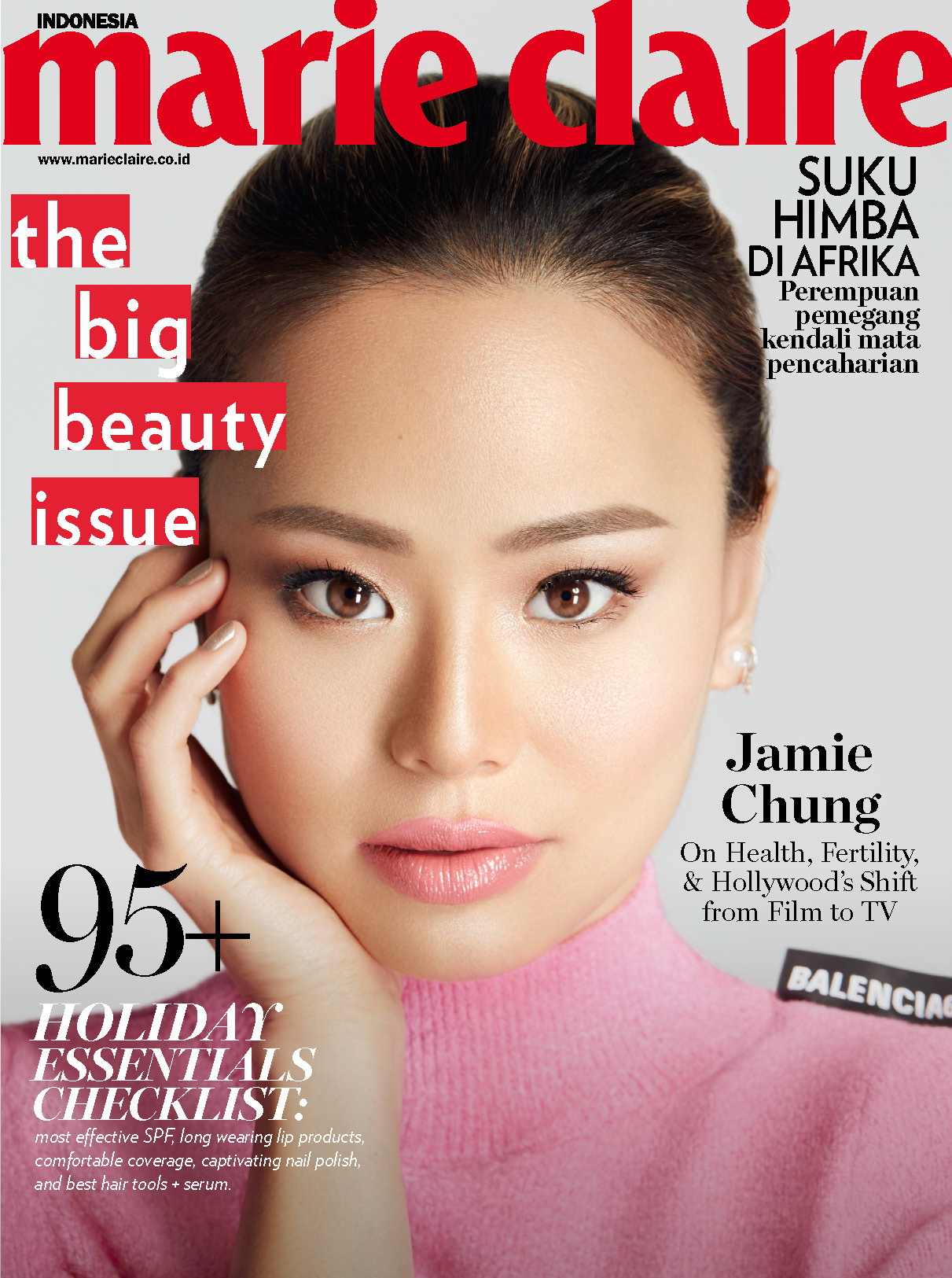 Jamie Chung Marie Claire Indonesia