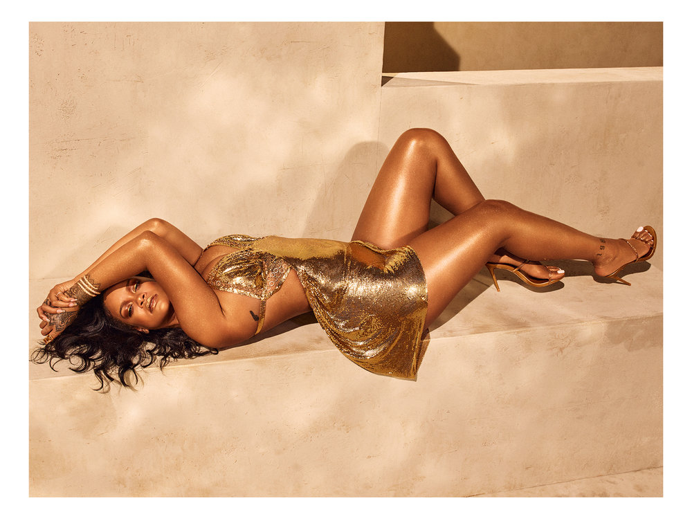 Rihanna Fenty Beauty Body Lava Campaign
