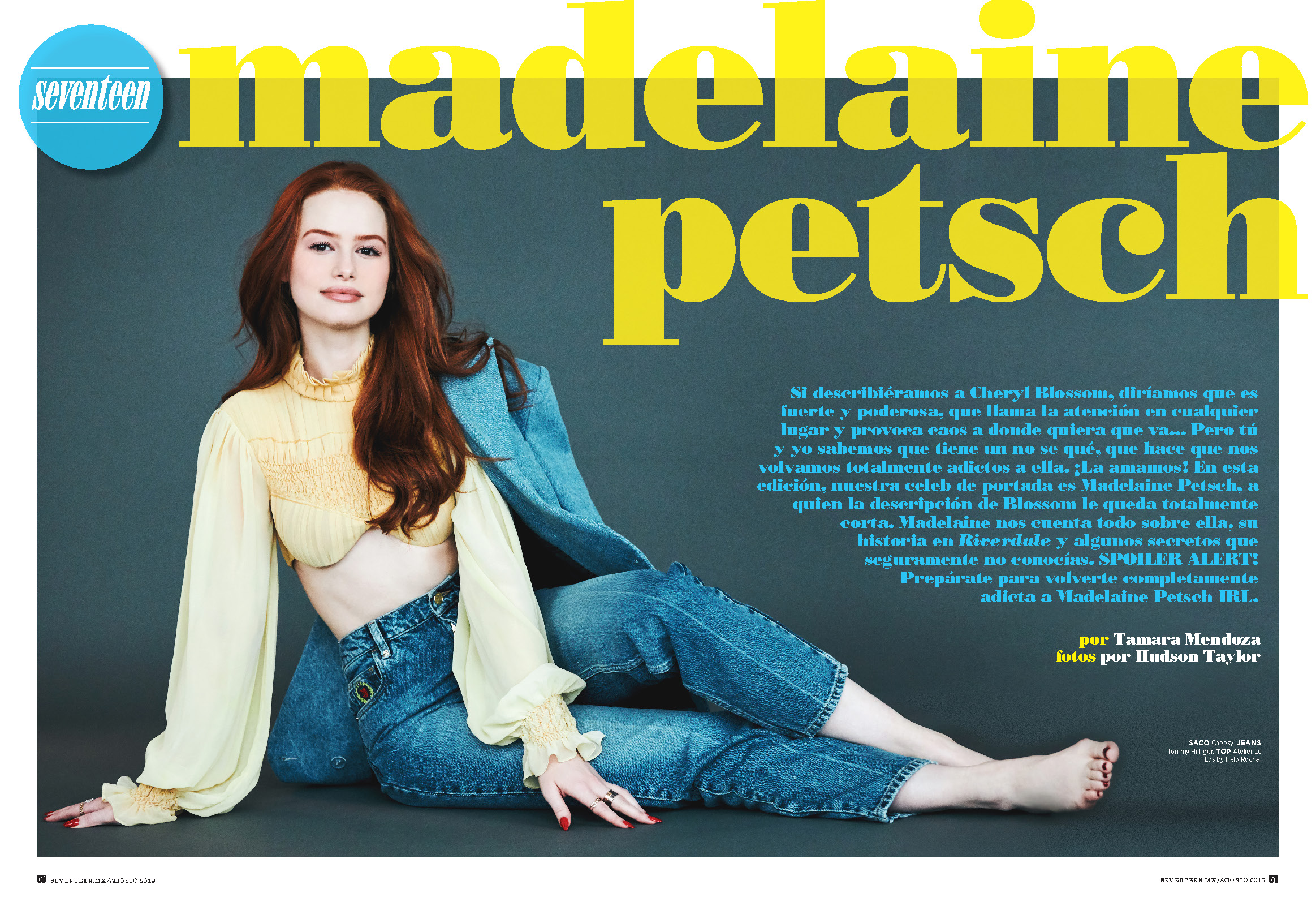 Madelaine Petsch Seventeen Mexico