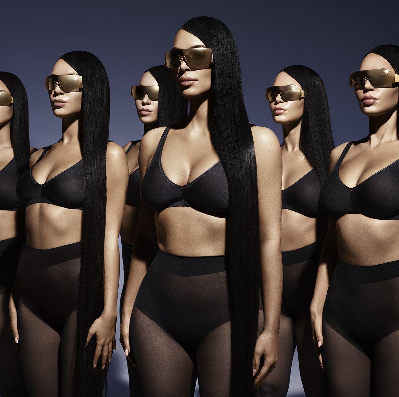 Kim Kardashian West Bar Refaeli Carolina Lemke Campaign