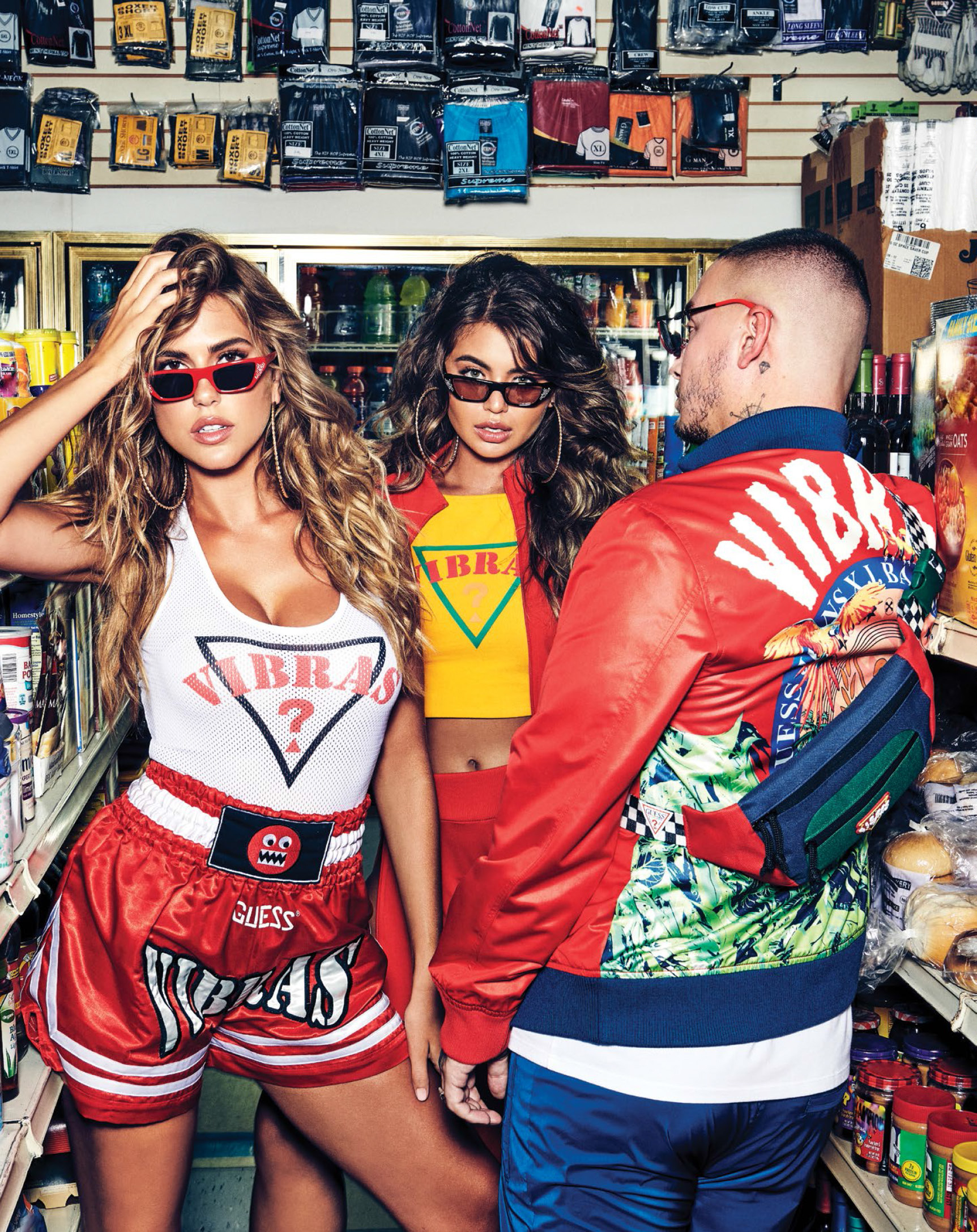 Guess Spring 2019 Campaign Vibras J Balvin Capsule Collection