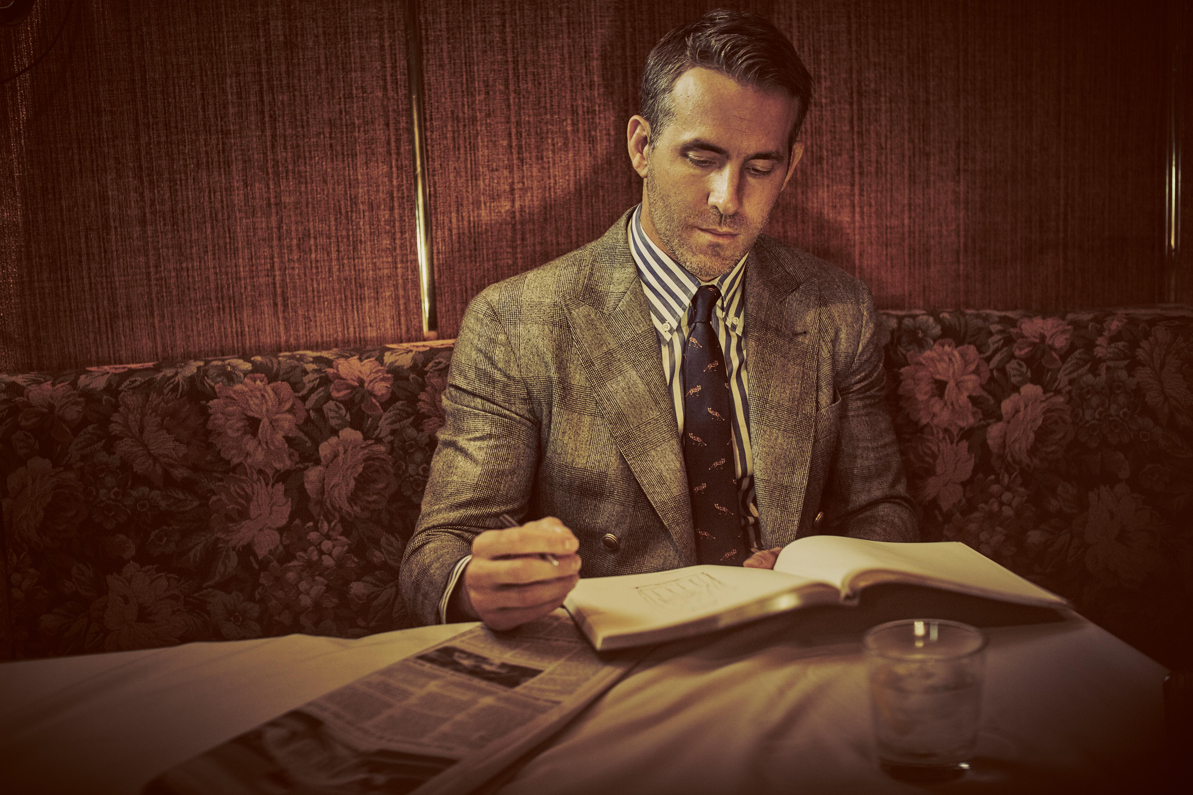 Ryan Reynolds Aviation American Gin Gentleman's Journal
