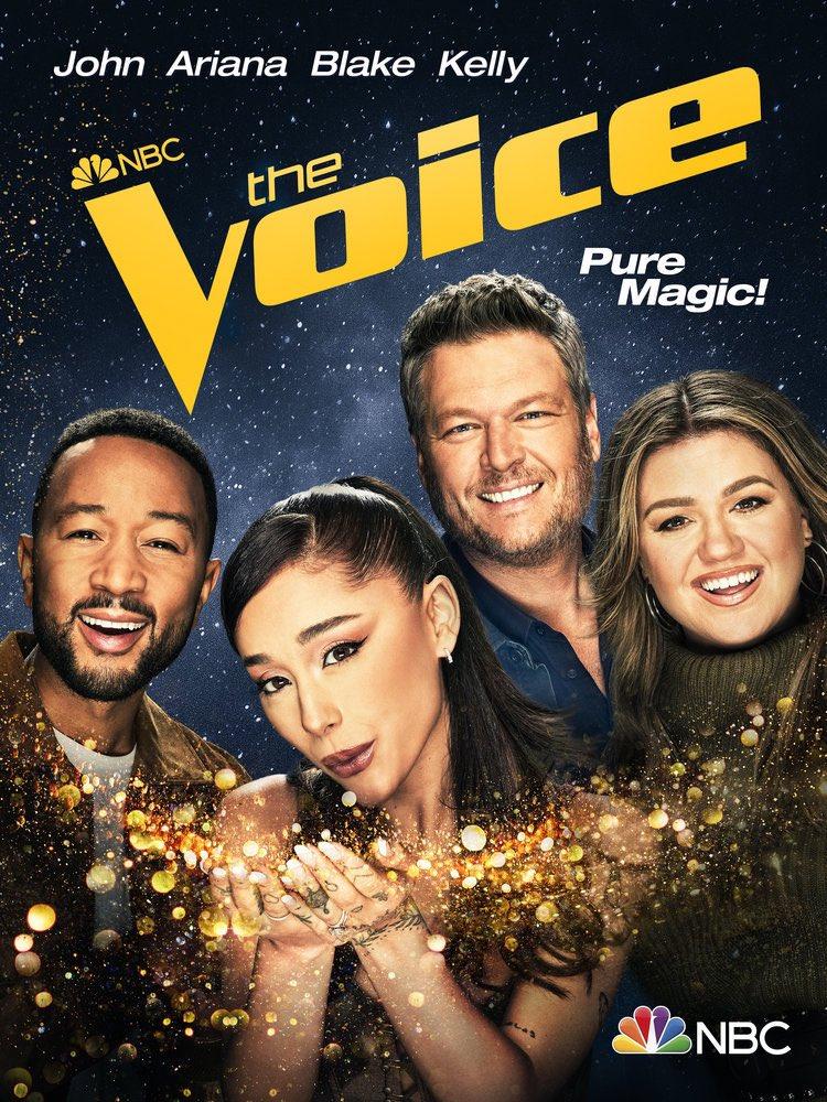 The Voice, Blake Shelton, Kelly Clarkson, Ariana Grande, Celestine Agency, Robert Ramos, Michelle DeMilt