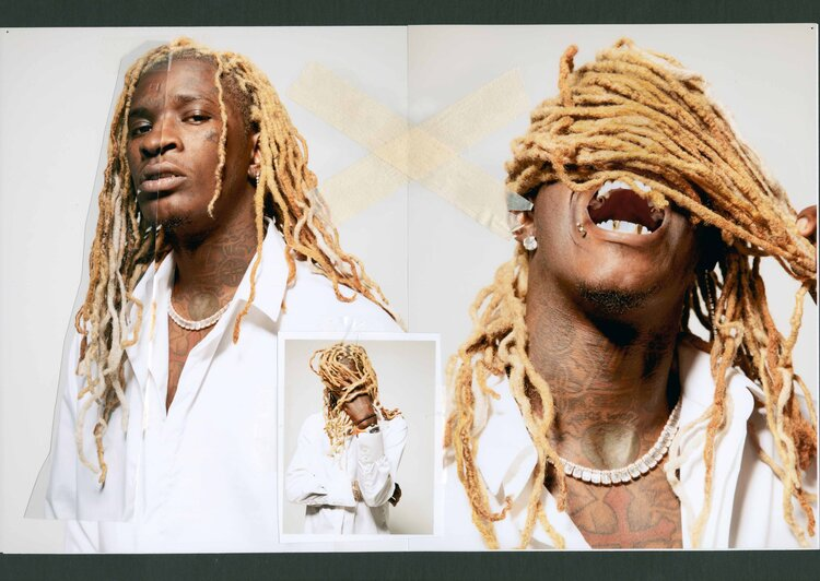 Sienree Du, Celestine Agency, Exit Magazine, Young Thug, Kenneth Cappello