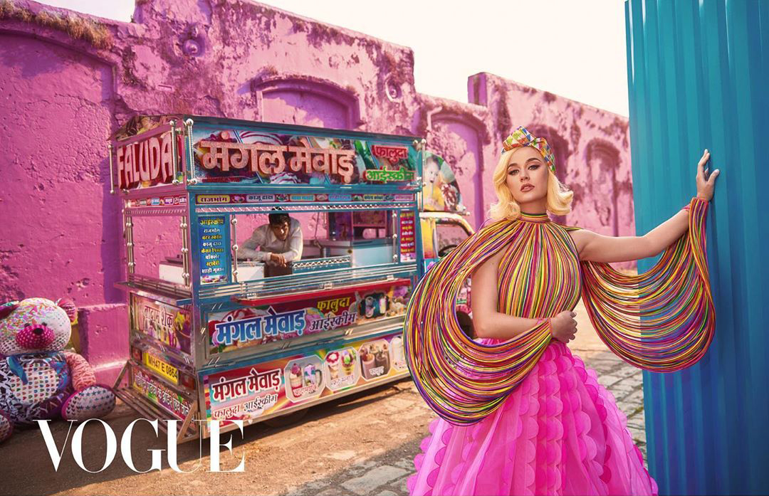 Katy Perry Vogue India Kimmie Kyees
