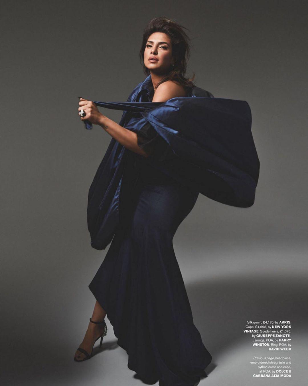 Priyanka Chopra, Tatler, Pattie Yankee, Celestine Agency