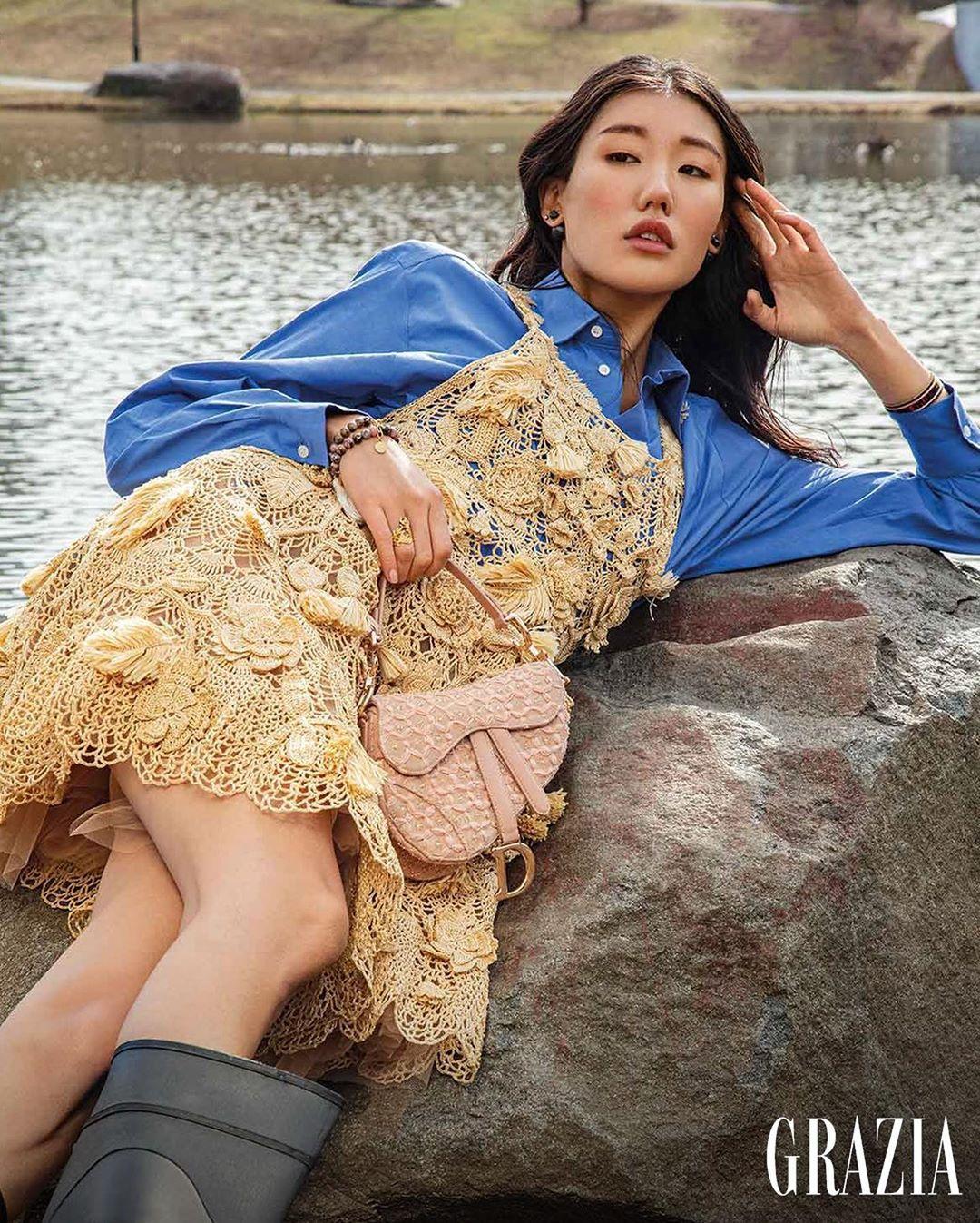 Grazia Mexico, Jeannie Park, Celestine Agency, Viktorija Bowers, Dior