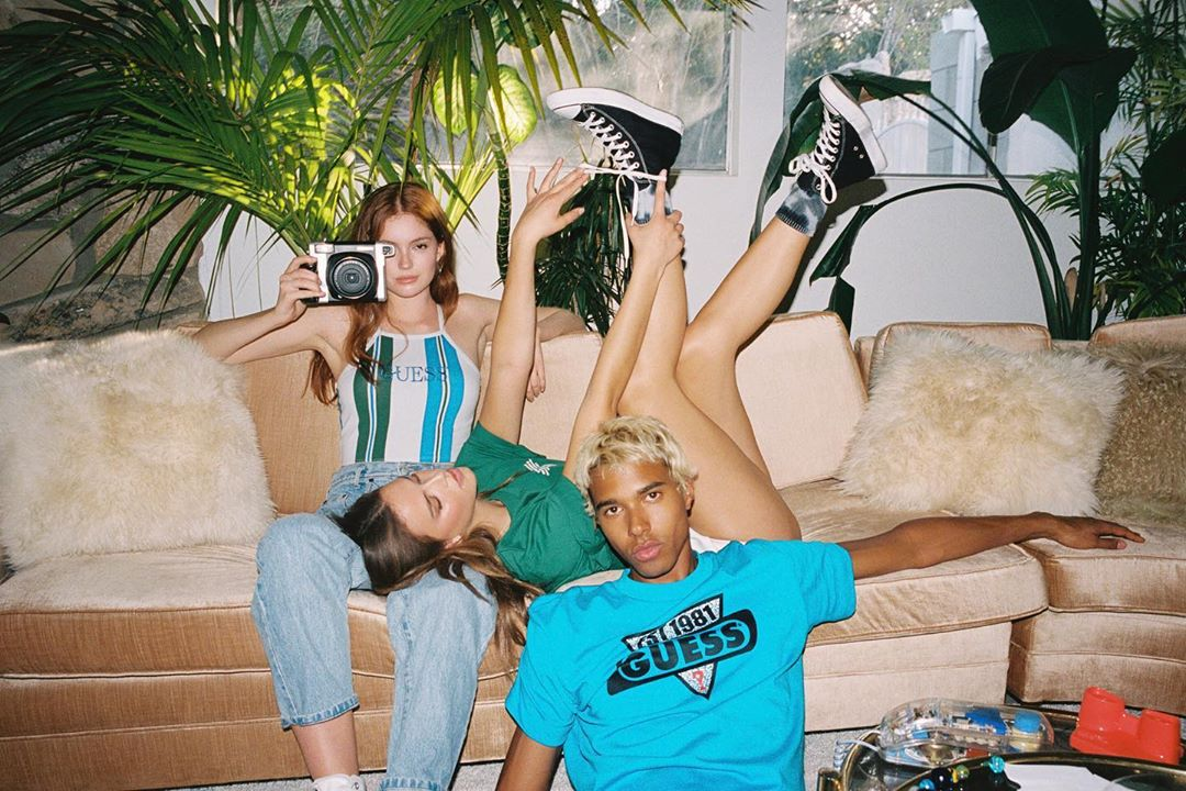 Guess Originals, Fall 2020, Mishelle Parry, Celestine Agency